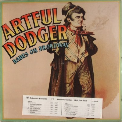 Artful Dodger - Babes on Broadway - front cover