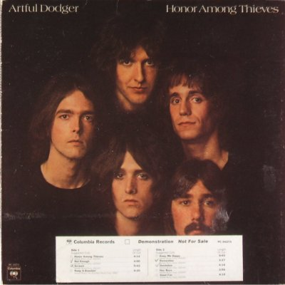 Artful Dodger - Honor Among Thieves - front cover