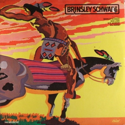 cover Brinsley Schwarz - Capitol 1978 = 2 record set