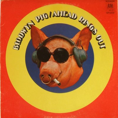 Blodwyn Pig - Ahead Rings Out - front cover
