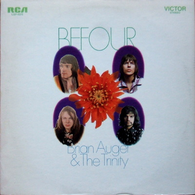 cover Brian Auger and the Trinity - Befour