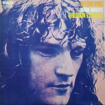 cover Brian Auger's Oblivion Express  Second Wind
