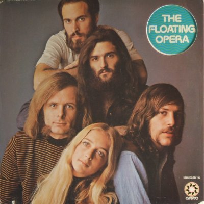 The Floating Opera - front cover