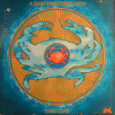 Giant Crab - front cover