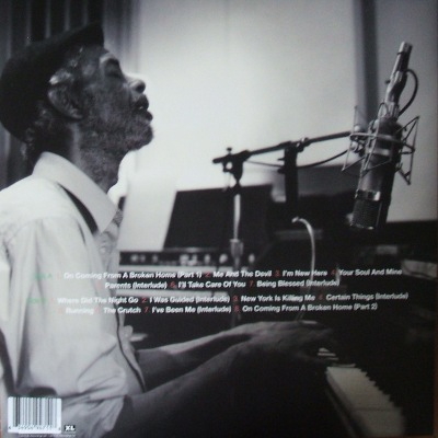 Gil Scott Heron - rear cover