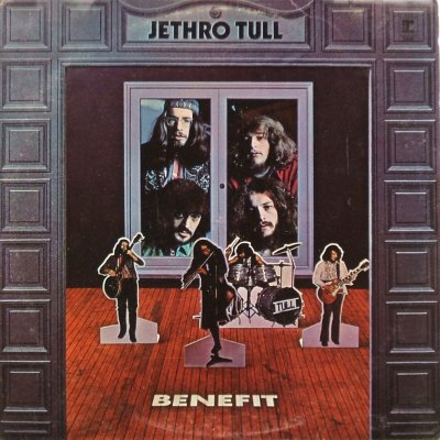 Jethro Tull Benefit - front cover