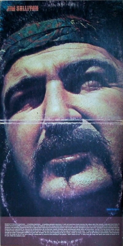 Jim Sullivan - gatefold cover