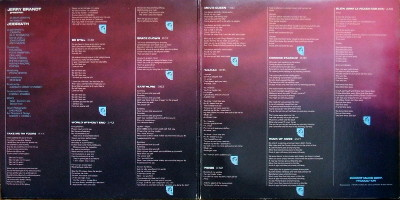 JOBRIATH Inside gatefold open