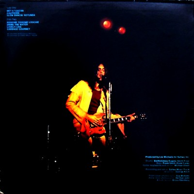 Lee Michaels - rear cover
