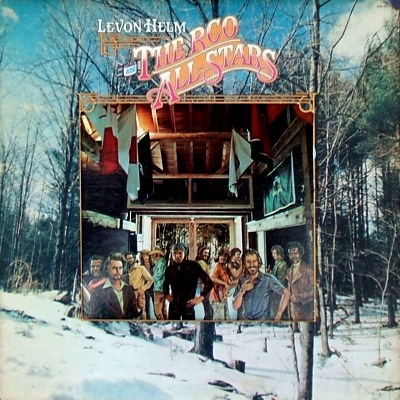 Levon Helm and the RCO All Stars - front cover