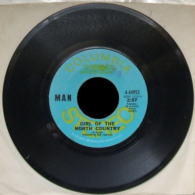 Man - 45 rpm single