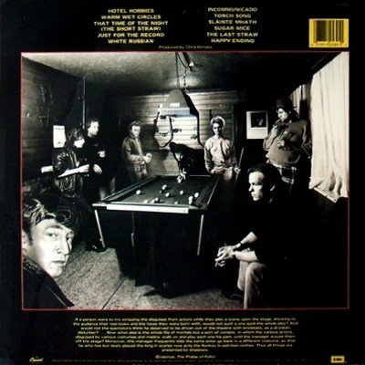 Marillion - Clutching At Straws - rear cover