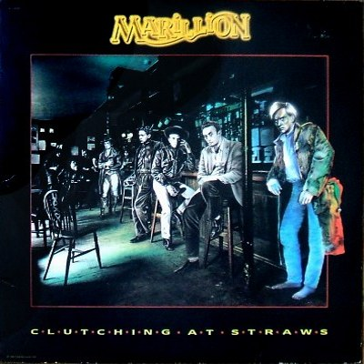 Marillion - Clutching At Straws - front cover