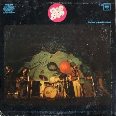 The Moby Grape - rear cover