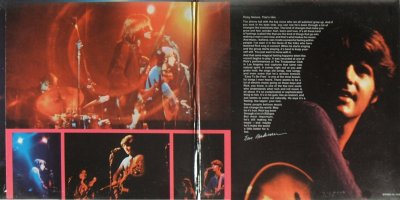 In Concert - inside gatefold