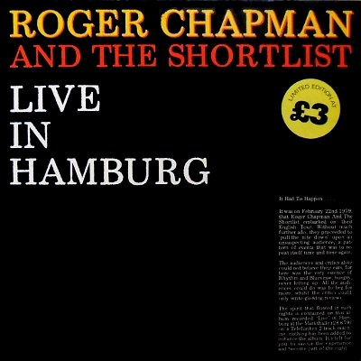 cover Roger Chapman and The Shortlist - Live in Hamburg