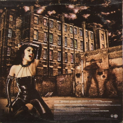 Streetwalkers - rear cover