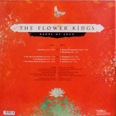 The Flower Kings - Banks of Eden- rear cover