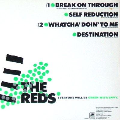 The Reds - rear cover
