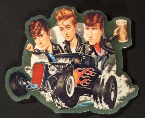 Stray Cats Shaped Picture Disc Vinyl History The