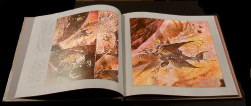 Patrick Woodroffe, Dave Greenslade - book opened