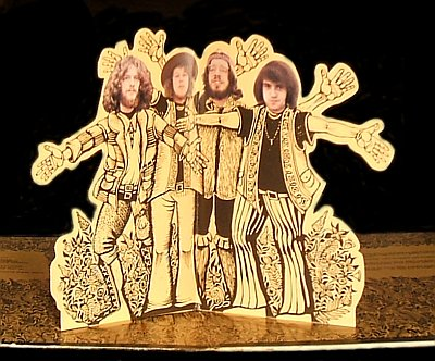 Jethro Tull Stand Up - pop up detail