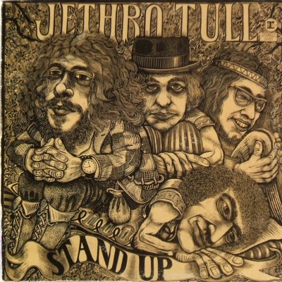 Jethro Tull Stand Up - front cover
